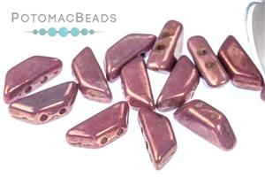 Czech Pressed Glass Beads / Tinos® par Puca® Beads