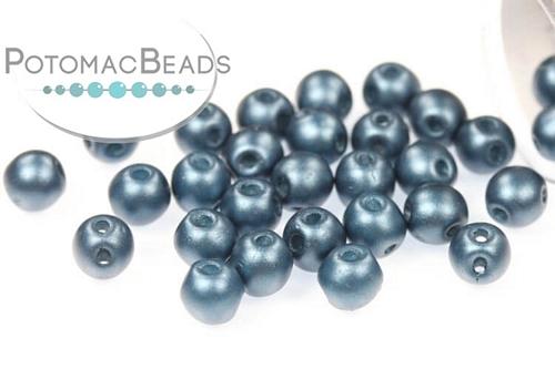 Czech Pressed Glass Beads / Czech Glass & Japanese Two Hole Beads / RounDuo® Mini Beads