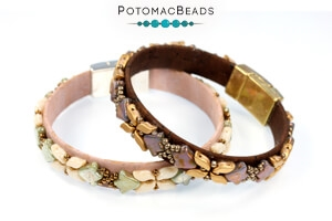 How to Bead Jewelry / Free Beading Patterns PDF / 2-Hole Bell Patterns