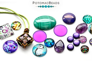 How to Bead Jewelry / Free Beading Patterns PDF / Cabochon Patterns