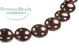 Czech Pressed Glass Beads / Candy Bead / Candy Bead 12mm