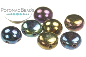 Czech Pressed Glass Beads / Candy Bead / Candy Bead 8mm
