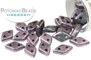 Czech Glass / CzechMates Beads / Diamond (2-hole)
