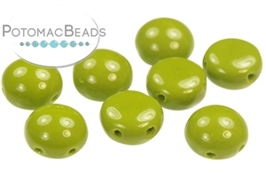Czech Pressed Glass Beads / Czech Glass & Japanese Two Hole Beads / Candy Bead / Candy Bead 8mm