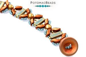 How to Bead Jewelry / Free Beading Patterns PDF / Miyuki Rectangle Bead Patterns