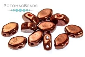 Czech Pressed Glass Beads / Les Perles par Puca® / Paros® par Puca® Beads