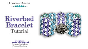 How to Bead Jewelry / Beading Tutorials & Jewel Making Videos / Bracelet Projects / Riverbed Bracelet Tutorial