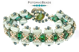 How to Bead Jewelry / Free Beading Patterns PDF / Half Silky Bead Patterns