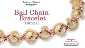 How to Bead / Free Video Tutorials / Bracelet Projects / Ball Chain Bracelet Tutorial
