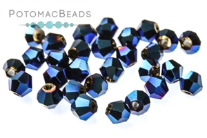 Jewelry Making Supplies & Beads / Beads and Crystals / Bicones CrystalBeads / Potomac Crystal Bicones 4mm
