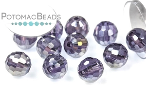 Jewelry Making Supplies & Beads / Beads and Crystals / Round Crystals / Potomac Crystal Disco Ball 6mm & 8mm (96 Facets)