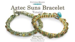 How to Bead / Free Video Tutorials / Bracelet Projects / Aztec Suns Bracelet Tutorial