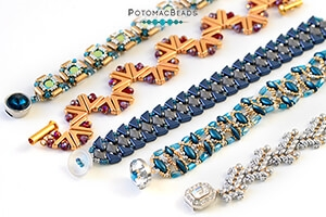 How to Bead Jewelry / Beading Tutorials & Jewel Making Videos / Bracelet Projects