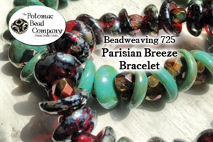How to Bead Jewelry / Beading Tutorials & Jewel Making Videos / Bracelet Projects / Parisian Breeze Bracelet Tutorial