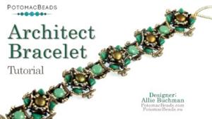 How to Bead Jewelry / Beading Tutorials & Jewel Making Videos / Bracelet Projects / Architect Bracelet Tutorial