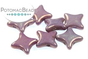 Czech Pressed Glass Beads / Star Beads