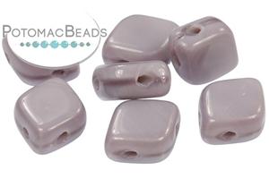 Czech Pressed Glass Beads / Rhombus Bead