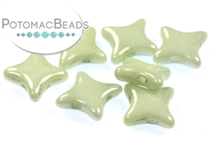 Czech Pressed Glass Beads / Czech Glass & Japanese Two Hole Beads / Star Beads