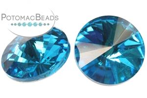 Jewelry Making Supplies & Beads / Beads and Crystals / Rivoli Crystals / Potomac Crystal 14mm Rivoli