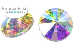 Jewelry Making Supplies & Beads / Beads and Crystals / Rivoli Crystals / Potomac Crystal 12mm Rivoli
