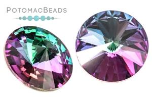 Jewelry Making Supplies & Beads / Beads and Crystals / Rivoli Crystals / Potomac Crystal 18mm Rivoli