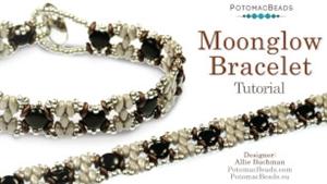 How to Bead / Free Video Tutorials / Bracelet Projects / Moonglow Bracelet Tutorial