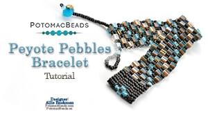 How to Bead / Free Video Tutorials / Bracelet Projects / Peyote Pebbles Tutorial
