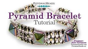 How to Bead Jewelry / Beading Tutorials & Jewel Making Videos / Bracelet Projects / Pyramid Bracelet Tutorial
