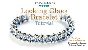 How to Bead / Free Video Tutorials / Bracelet Projects / Looking Glass Bracelet Tutorial