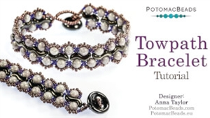 How to Bead / Free Video Tutorials / Bracelet Projects / Towpath Bracelet Beadweaving Tutorial