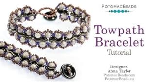 How to Bead Jewelry / Beading Tutorials & Jewel Making Videos / Bracelet Projects / Towpath Bracelet Beadweaving Tutorial
