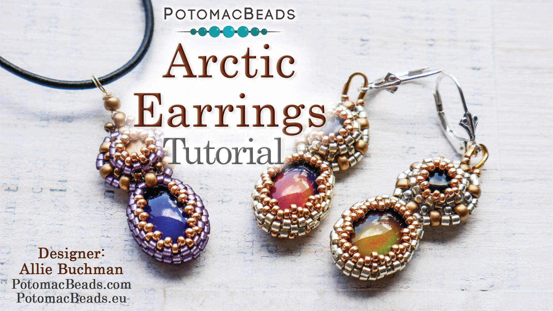How to Bead / Free Video Tutorials / Earring Projects / Arctic Earrings Tutorial