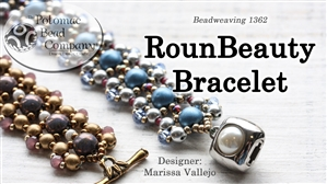 How to Bead / Free Video Tutorials / Bracelet Projects / RounBeauty Bracelet Beadweaving Tutorial