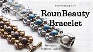 How to Bead Jewelry / Beading Tutorials & Jewel Making Videos / Bracelet Projects / RounBeauty Bracelet Beadweaving Tutorial
