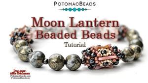 How to Bead / Free Video Tutorials / Beaded Beads / Moon Lantern (Beaded Beads) Tutorial