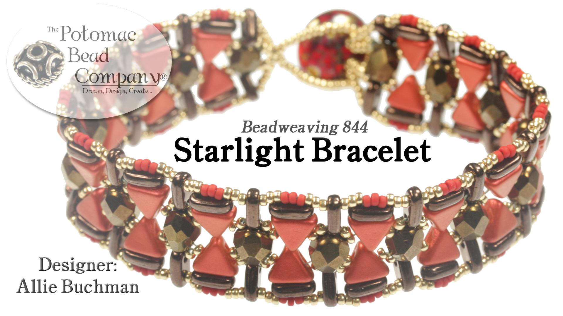 How to Bead Jewelry / Beading Tutorials & Jewel Making Videos / Bracelet Projects / Starlight Bracelet Tutorial