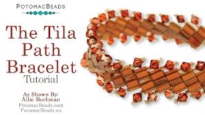 How to Bead / Free Video Tutorials / Bracelet Projects / The Tila Path Bracelet Tutorial