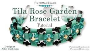 How to Bead Jewelry / Beading Tutorials & Jewel Making Videos / Bracelet Projects / Tila Rose Garden Bracelet Tutorial