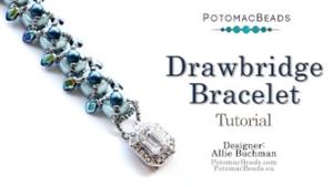 How to Bead Jewelry / Beading Tutorials & Jewel Making Videos / Bracelet Projects / Drawbridge Bracelet Tutorial