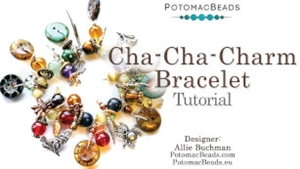 How to Bead / Free Video Tutorials / Stringing & Knotting Projects / Cha-Cha-Charm Bracelet Tutorial
