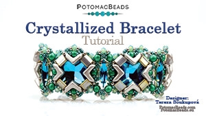 How to Bead / Free Video Tutorials / Bracelet Projects / Crystallized Bracelet Tutorial