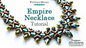 How to Bead / Free Video Tutorials / Necklace Projects / Empire Necklace Tutorial