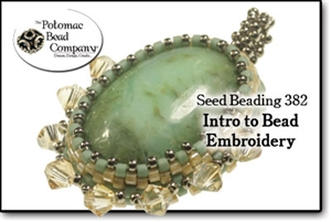 How to Bead Jewelry / Beading Tutorials & Jewel Making Videos / Pendant Projects / Intro to Bead Embroidery Tutorial