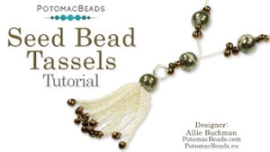How to Bead Jewelry / Beading Tutorials & Jewel Making Videos / Pendant Projects / Seed Bead Tassels Tutorial
