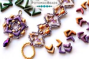 How to Bead Jewelry / Free Beading Patterns PDF / EVA Bead Patterns