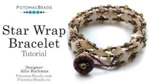 How to Bead Jewelry / Beading Tutorials & Jewel Making Videos / Bracelet Projects / Star Wrap Bracelet Beadweaving Tutorial