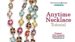 How to Bead / Free Video Tutorials / Necklace Projects / Anytime Necklace Tutorial