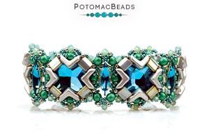 How to Bead Jewelry / Free Beading Patterns PDF / RounDuo Mini Bead Patterns