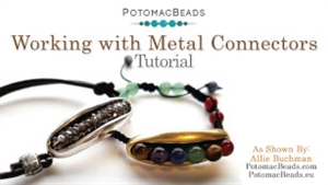 How to Bead / Free Video Tutorials / Stringing & Knotting Projects / Working with Metal Connectors