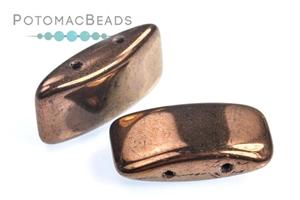 Czech Pressed Glass Beads / Carrier Beads XL